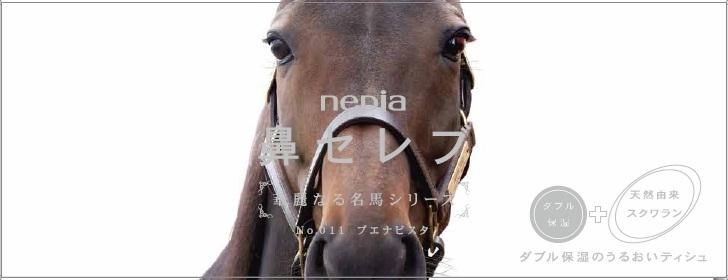 名牝ブエナビスタが鼻セレブに登場!華麗なる名馬シリーズのパッケージに
